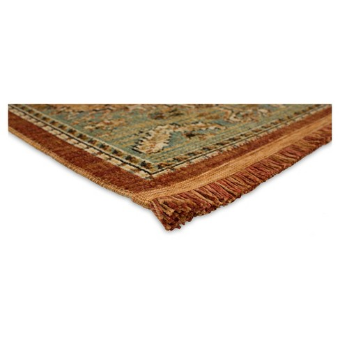 Spiced Green Floral Woven Area Rug 10 X12 Threshold Target