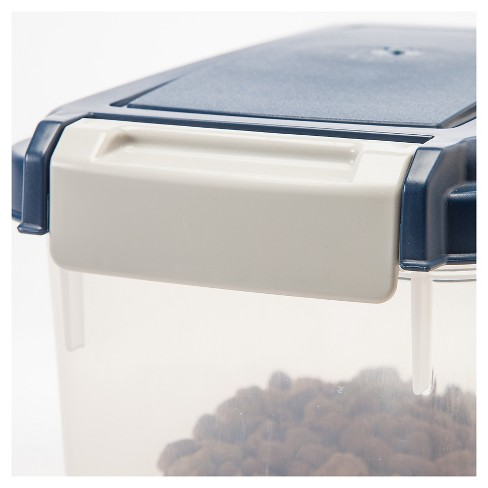 a3f2ccd46297 IRIS Airtight Pet Food Storage Container for Treats (11 Quart)