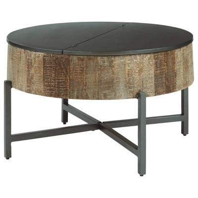 Nashbryn Coffee Table Gray/Brown - Signature Design by Ashley