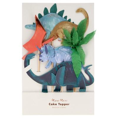 Meri Meri Dinosaur Kingdom Cake Toppers