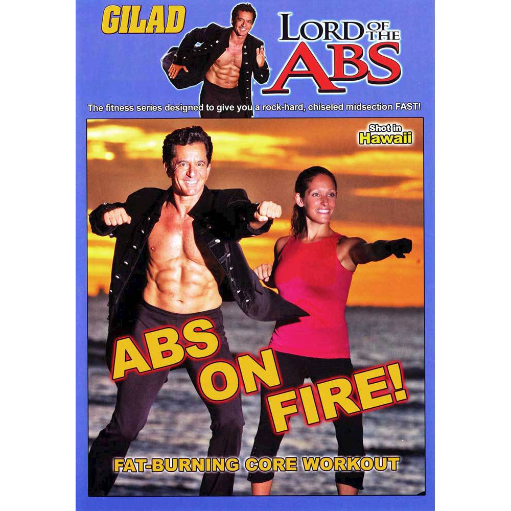 Gilad:Lord Of The Abs Abs On Fire (Dvd)
