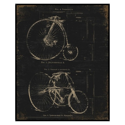 Architectural Bikes Wall Art - image 1 of 3