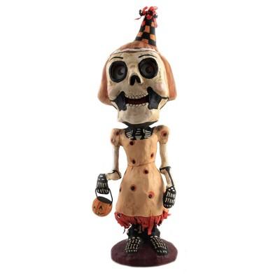 "Jorge De Rojas 11.5"" Trick Or Treat Tena Skull Pumpkin Halloween  -  Decorative Figurines"