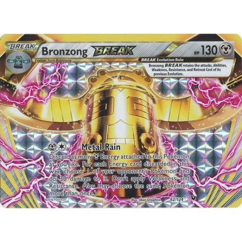 Pokemon X and Y Fates Collide Rare Holo BREAK Bronzong BREAK #62 - image 1 of 1