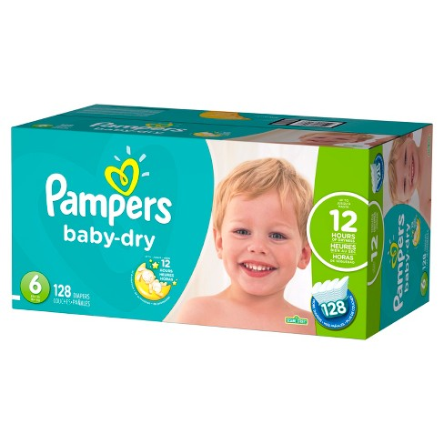 8928f6d28a732 Pampers Baby Dry Diapers Economy Plus Pack (Select Size). Shop all Pampers  Baby Dry
