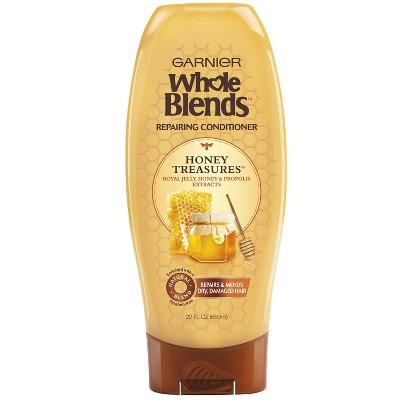 Garnier Whole Blends Honey Treasures Repairing Conditioner - 22 fl oz