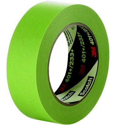 Scotch High Performance Masking Tape, 0.75 Inch x 60 Yards, Green