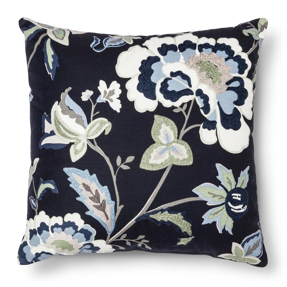 Blue Throw Pillow - Threshold, Black