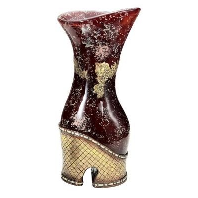 OK Lighting Crystal Stone Decorative Vase
