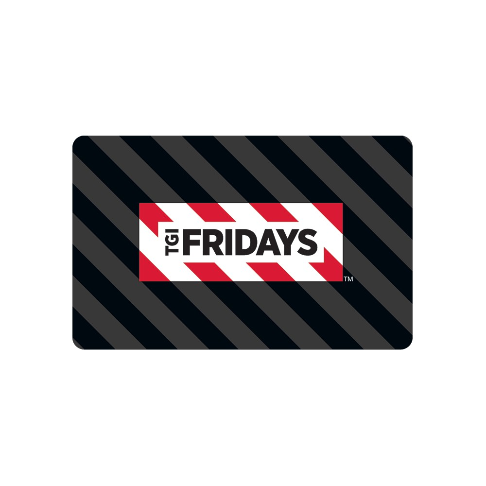 TGI Friday's Gift Card (Email Delivery) TGI Friday's Gift Card (Email Delivery)