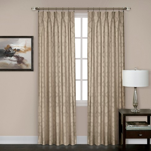 "Windsor Pinch Pleat Curtain Panel- Silver (34"" x 84"") - image 1 of 1"