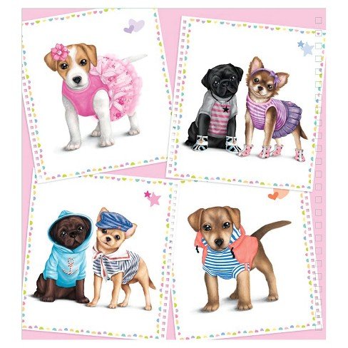 Style Model Create Your Own Doggy Sketch Pad With Stencils Target