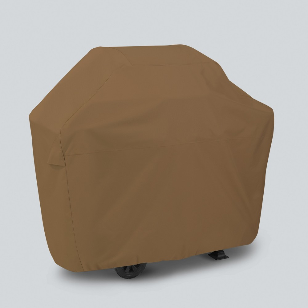 "Image of ""53"""" Grill Cover - Tan - Threshold , Brown"""