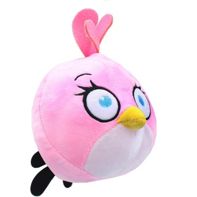 Johnny's Toys Angry Birds 7 Inch Plush Character Head | Stella