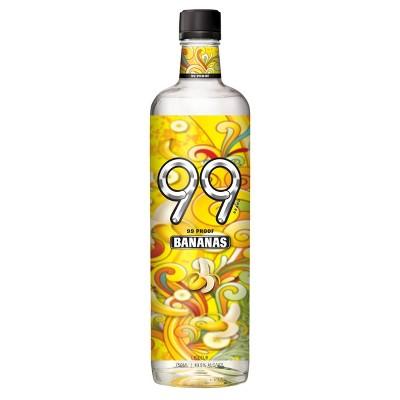 99 Bananas Liqueur - 750ml Bottle