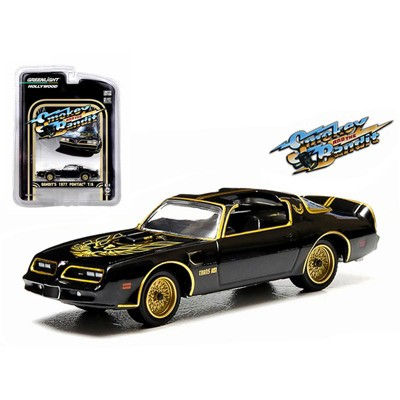 """1977 Pontiac Trans Am (Bandit's) """"Smokey and the Bandit"""" (1977) Movie 1/64 Diecast Model Car by Greenlight"""