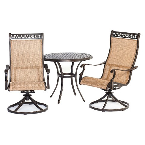 Hanover Manor 3-Piece Bistro Dining Set - image 1 of 1