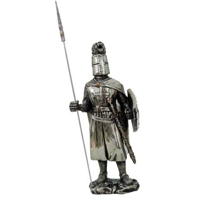 """Pacific Trading Crusader Knight 7"""" Statue 8873"""