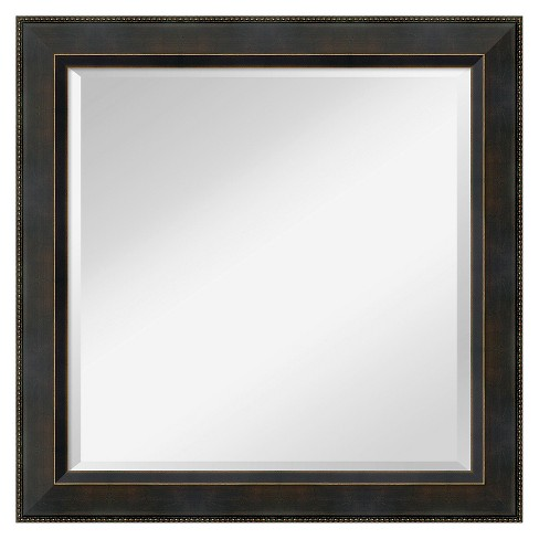 Square Signore Decorative Wall Mirror - Amanti Art - image 1 of 9