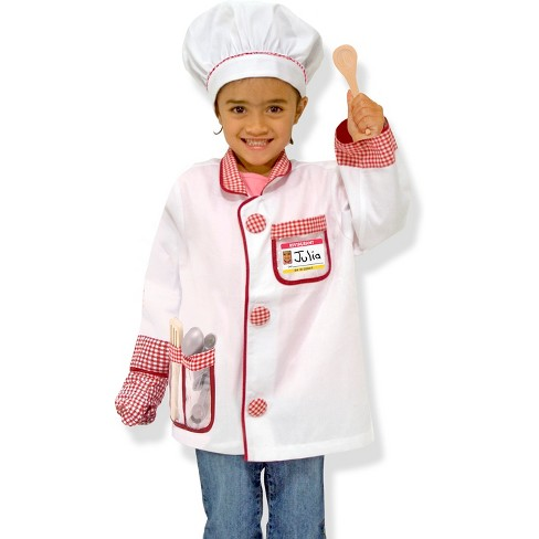 Image result for chefs outfit for kids melissa and doug