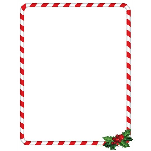 80pk candy cane holly stationery kits great papers target