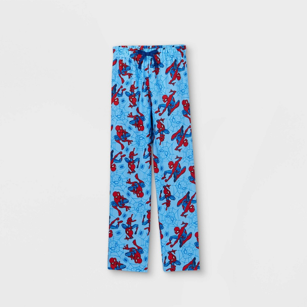 Boys 39 Marvel Spidey Mania Pajama Pants Blue M