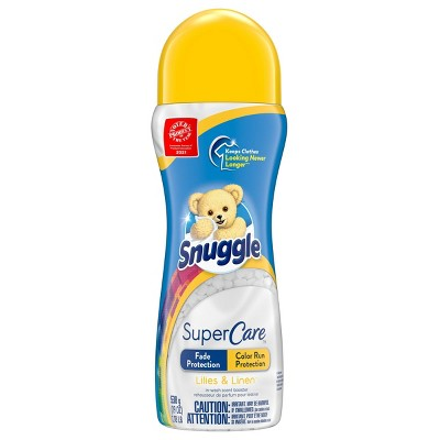 Snuggle Supercare Lilies & Linen Scent Booster - 19oz