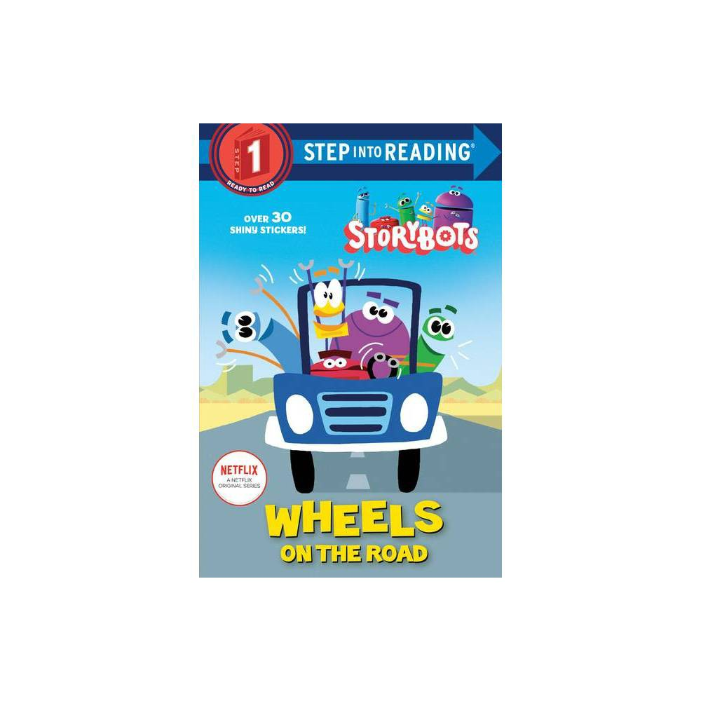 Wheels On The Road Storybots Step Into Reading By Scott Emmons Paperback