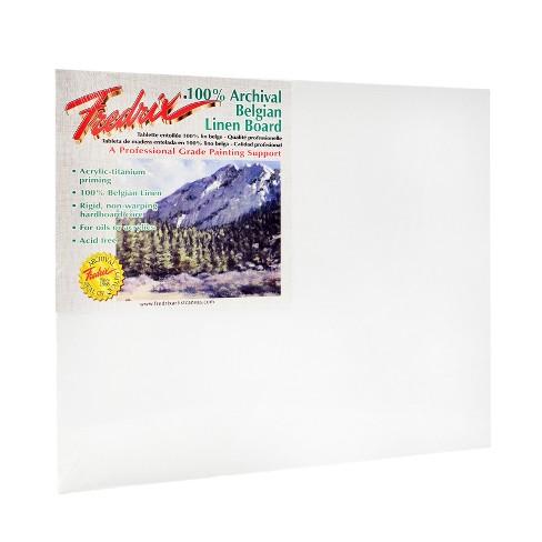 "Fredrix Pro Series Archival Linen Canvas Boards, 16 X 20"" - image 1 of 2"