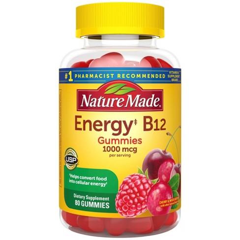 Nature Made Energy‡ B12 1000 mcg Gummies - Cherry & Mixed Berry - image 1 of 4