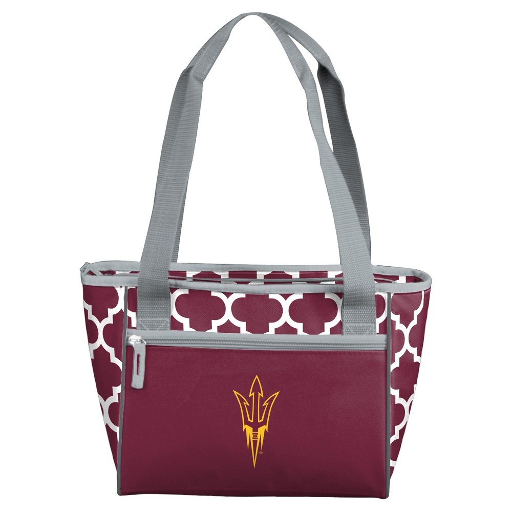 NCAA Logo Brands 16 Can Cooler Tote Arizona State Sun Devils