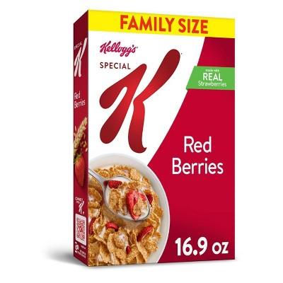 Special K Red Berries Breakfast Cereal - 16.9oz - Kellogg's