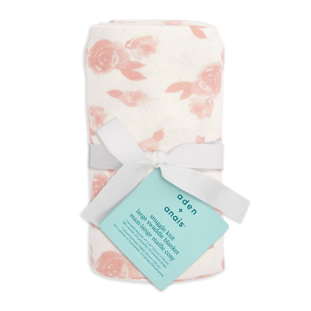Image of Aden + Anais Essentials Snuggle Kit Swaddle Blanket - Pink