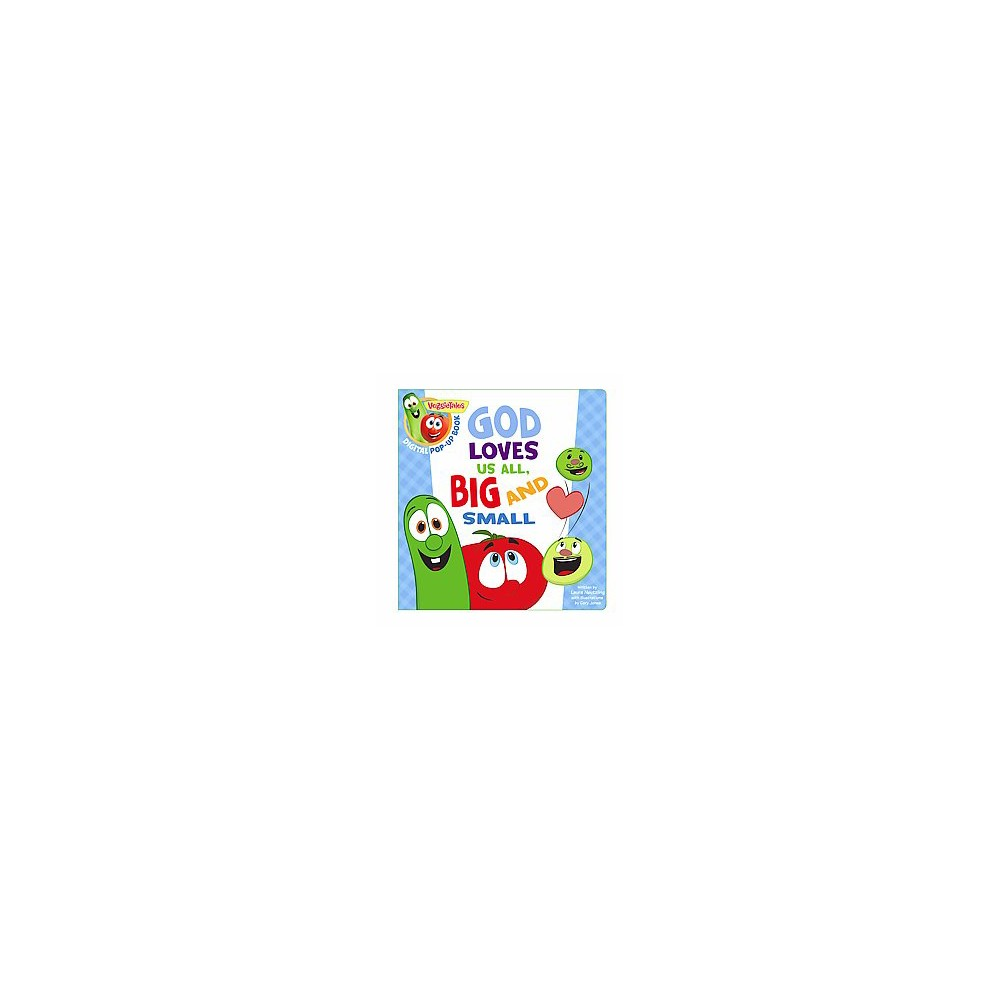 God Loves Us All, Big and Small : Digital Pop-up Book (Hardcover) (Laura Neutzling)