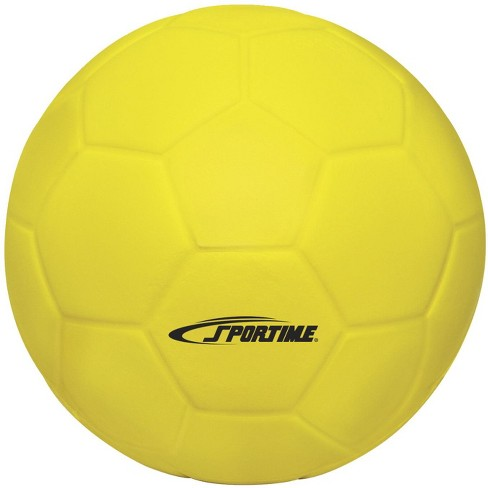 Sportime Coated Foam Soccer Ball, 7-1/2 Inches, Yellow - image 1 of 1