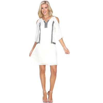 Women's Marybeth Embroidered Dress - White Mark