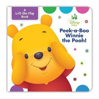 Disney Baby Peek-a-Boo Winnie the Pooh (Hardcover) (Marcy Kelman)