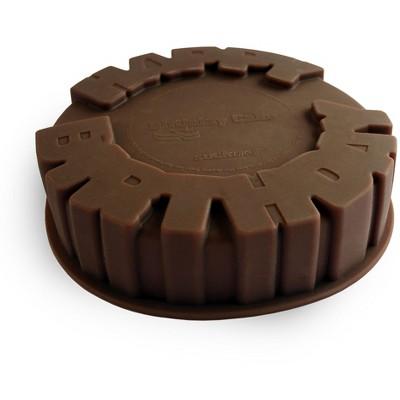 Suck UK Birthday Brown Silicone Cake Mold