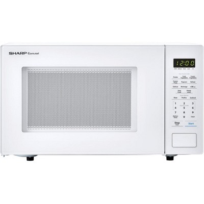 Sharp Carousel 1.1 Cu Ft 1000W Countertop Microwave Oven (Refurbished)