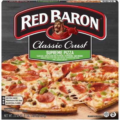 Red Baron Classic Supreme Frozen Pizza - 23.45oz