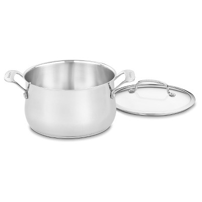 Cuisinart® Contour Stainless Steel 5 quart Dutch Oven - 445-22