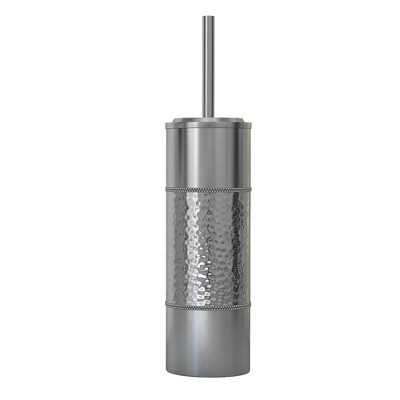 Slim Compact Stainless Steel Toilet Brush Holder Two-Tone - Nu Steel