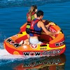 Wow Bingo 2 Inflatable 2 Person Seating Ride Cockpit Towable Water Sports Tube - image 2 of 4