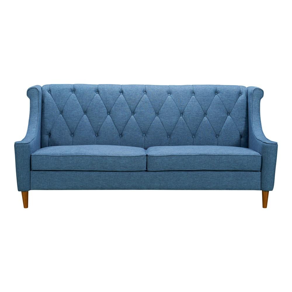 Kufra Mid-Century Sofa Blue - Modern Home
