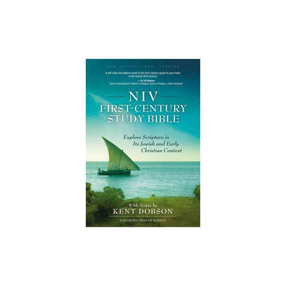 NIV First-Century Study Bible (Hardcover)