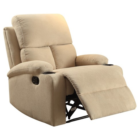 Accent Chairs  Acme Furniture Beige - image 1 of 5