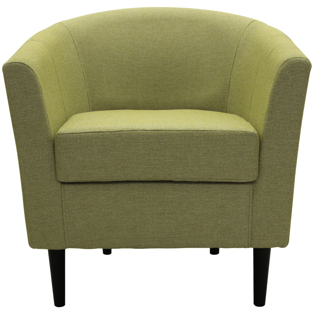 Windsor Stain Resistant Club Chair Green - Fox Hill Trading