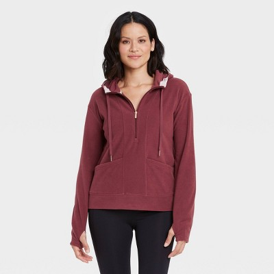 Women's Microfleece Pullover Sweatshirt - All in Motion™