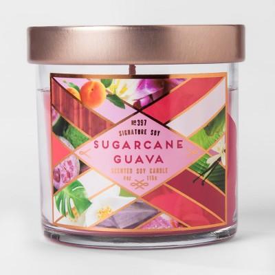 Small Jar Candle Sugarcane Quava 4oz