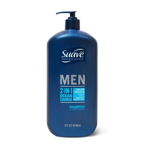 Suave 2-in-1 Shampoo and Conditioner Ocean Charge - 28 fl oz - image 1 of 4